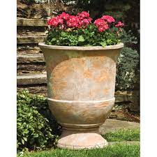 lipari terra cotta garden urn planters