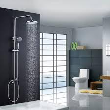 Auralum Chrom Duschset Duscharmatur Kupfer Duschsystem Mit