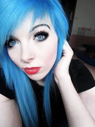 Emo Girl Hair Style emo girls with blue hair unique wodip 1834 by wearticles.com