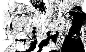 七つの大罪の十戒メンバーの画像一覧 Comic Buzz
