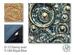 Amaco Underglaze Velvet Royal Blue