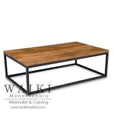 coffee table furniture. Coffee Table Industrial Furniture Jepara, Finishing Powder Coating Jepara O