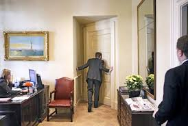 us president office. Jared Weinstein, Special Assistant And Personal Aide To U.S. President George W. Bush, Prepares Enter The Oval Office Keep On Schedule, Us T