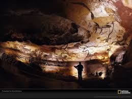 the second oldest known cave art in europe is in chauvet cave at least 32 000 years old the animals painted are realistic yet dreamlike incomplete