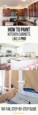 diy paint oak cabinets white how to paint your kitchen cabinets so it looks like you
