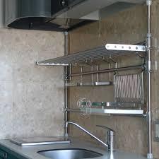 Stainless Shelves Kitchen Kitchen Stainless Steel Floating Shelves Kitchen Dinnerware