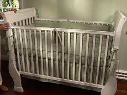 diy baby furniture. Crib Is White Sleigh Bed With Removable Rails Diy Baby Furniture
