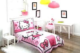 Hello Kitty Twin Comforter Bed Set Full Size Bedding Walmart