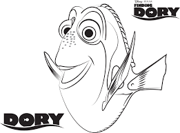 Small Picture Disneys Finding Dory Coloring Pages Sheet Free Disney Printable