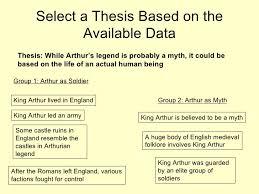 writing the basic essay arthur as myth 6