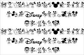 Disney Font 14 Mickey Mouse Fonts Free Ttf Otf Format Download