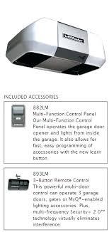 liftmaster garage door control a smart