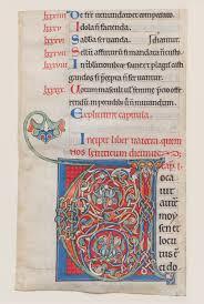 monasticism in western medieval europe essay heilbrunn manuscript illumination initial v
