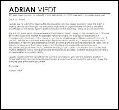 Library Assistant Cover Letter Sample Livecareer For Cover Letter