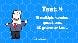 Multiple Questions Test Test English