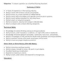Cna Resume Templates Mkma Delectable Free Cna Resume Builder