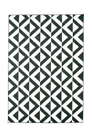 seemly black and white striped outdoor rug chevron plastic st