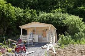 construction of garden shed