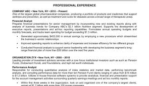 Great Resume Templates Marketing Analyst Resume