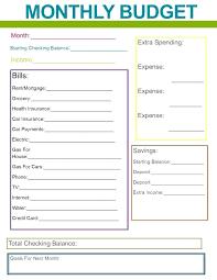 Budget Sheet Free Printable 15 Free Printable Budget Worksheet Proposal Review