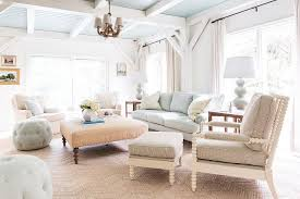 ivory and blue living room with beadboard ceiling beadboard ceiling living room n92 living