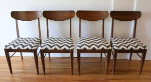 midcentury modern dining chairs. mcm dining chair set of 4 black and white chevron 1 midcentury modern chairs