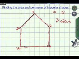 Perimeter Area On A Grid Youtube