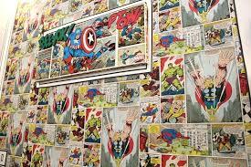 comic book wall vintage comic book wallpaper comic book wallpaper for bedroom home on superman vintage comic book wall comic book wall art