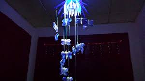 how to make chandelier out of waste