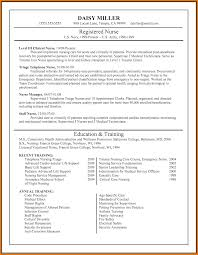Sample Resume For New Graduate Nurse Free Resume Example And