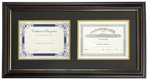 dual vertical diploma frame for 8 5 x 11 doents
