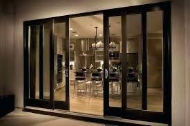 inside glass doors interior sliding glass door with black design
