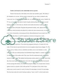 television and family circle essay example topics and well  television and family circle essay example