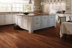 laminate flooring in a kitchen