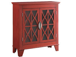accent cabinet with glass doors zoom