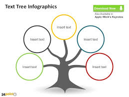 tree in powerpoint text tree infographics powerpoint