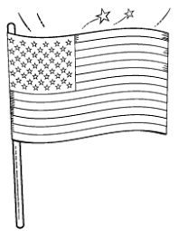 Small Picture Flag Coloring Pages and More