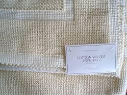 cotton bath mat large cotton bath rug area ideas 100 cotton bathroom rug sets