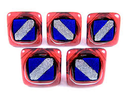 get ations custom made abstract nautical patriotic dichroic glass knobs cabinet or drawer pull handle 1