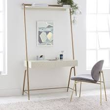 wall desk mirror. Perfect Wall Audrey Wall Desk  Parchment Inside Mirror I