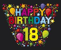 Happy Birthday 18 Happy Birthday Party Happy Birthday Design