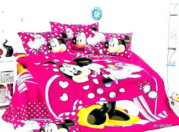 Minnie Mouse Bedroom Set Bed Full Size Mickey Comforter – Pages ...
