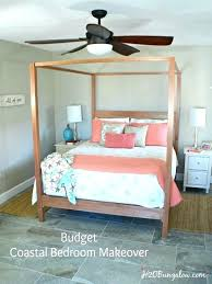 bedroom makeover on a budget coastal master bedroom decorating ideas budget coastal master bedroom makeover ideas that are easy to do bedroom decor ideas