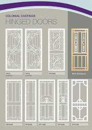 security screen doors. Colonial Castings Safety Screen Doors And Grills Security D