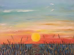 turquoise sunset