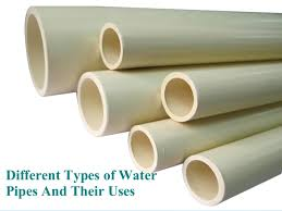 Types Of Pipes Different Types Of Water Pipes And Their Uses