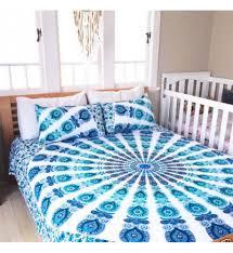 trippy bed sets mandala sheets hippie duvet covers