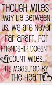 Quotes About Friendships And Distance friendship Quotes long distance friendship quote in cute floral 19