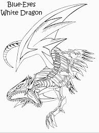 Small Picture Blue Eyes White Dragon Coloring Pages Dzrleathercom