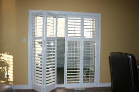 innovative patio door shutters interesting pendant for inside sliding glass prepare 19